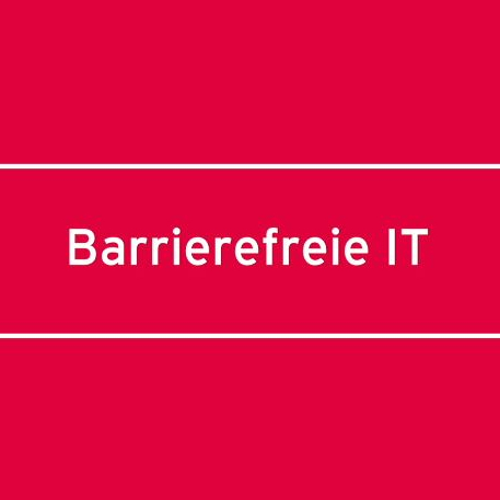 Barrierefreie IT